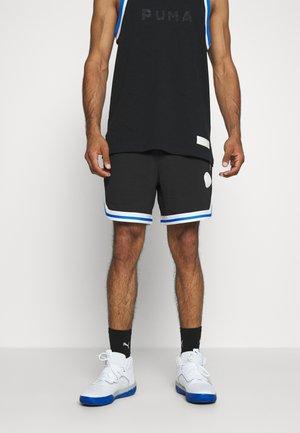HOOPS SHORT - Pantalón corto de deporte - black