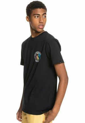 MELLOW PHONIC  - Print T-shirt - black