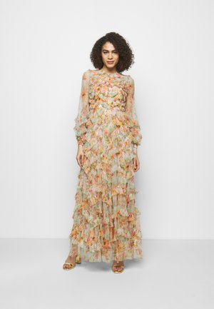 SUNSET GARDEN LONG SLEEVE GOWN - Vestido de fiesta - ivory