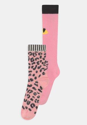 2 PACK - Ponožky - purple/pink
