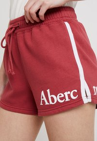 Abercrombie & Fitch - SUMMER - Shorts - red - 4