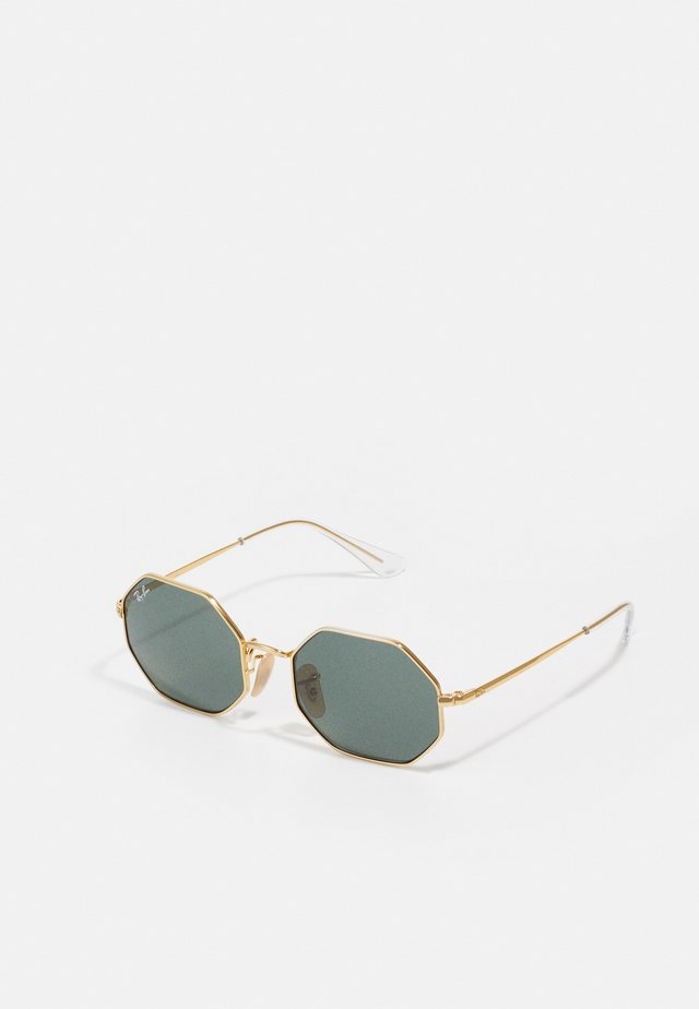 JUNIOR SUNGLASS UNISEX - Lunettes de soleil - shuiny gold-coloured