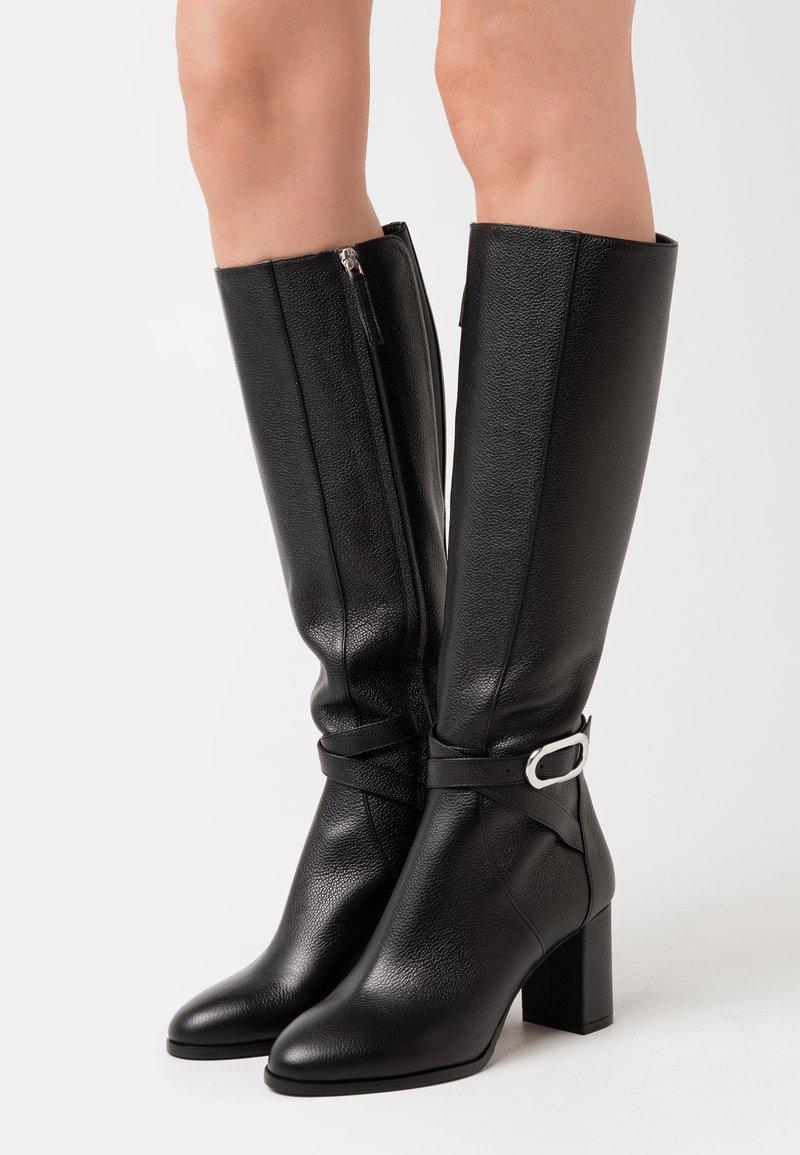 HUGO - PIPER BOOT  - Boots - black