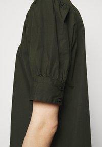 Bruuns Bazaar - FREYIE ALISE SHIRTDRESS - Shirt dress - green night - 3