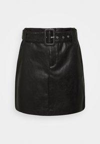ONLJESSIE SKIRT - Mini skirt - black