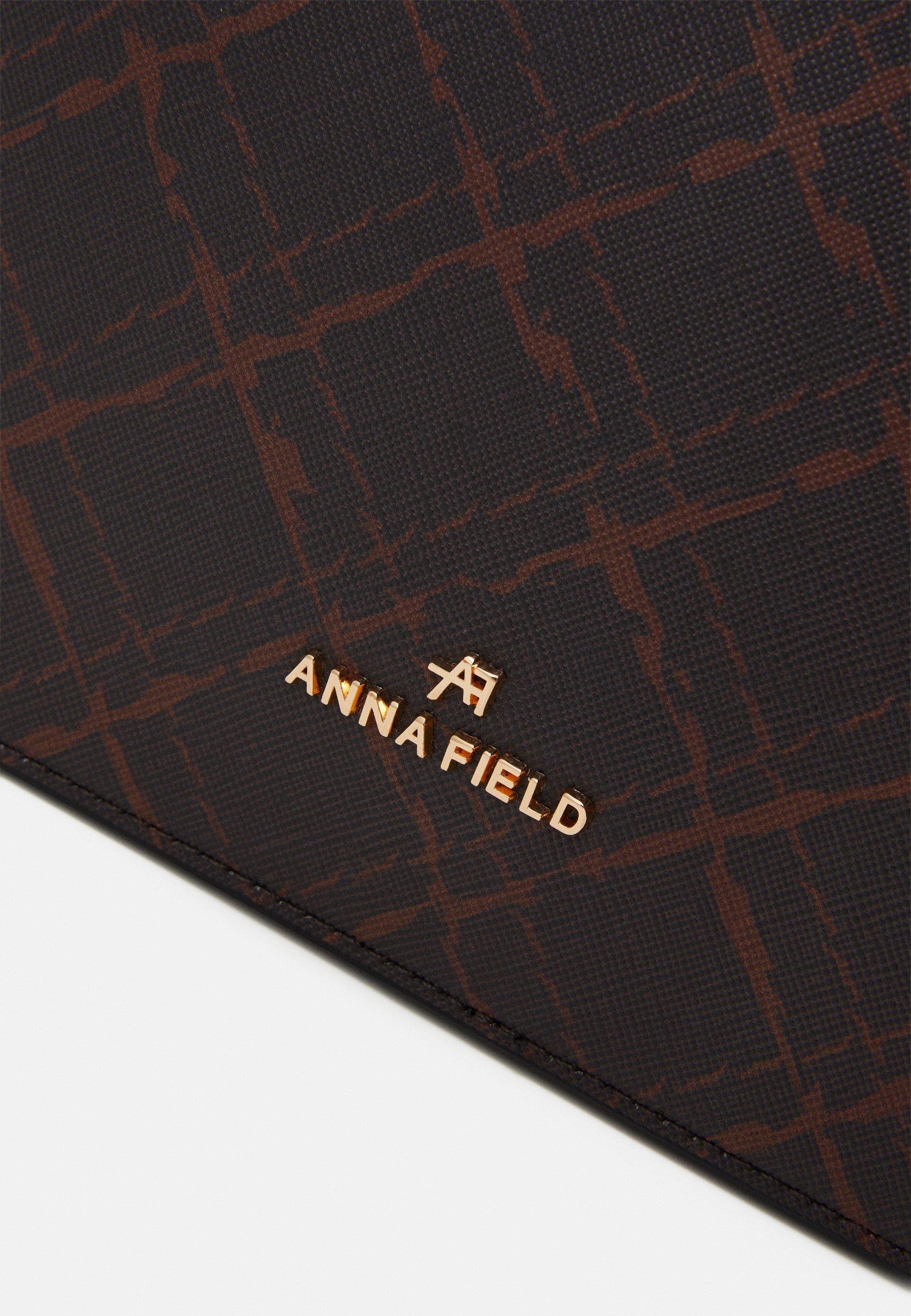 Anna Field Skulderveske - black/svart gi5OMI7JQ3CdZ6b