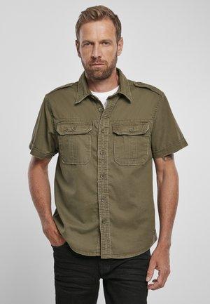 VINTAGE - Shirt - olive