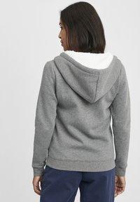 Oxmo - BINJA - Zip-up hoodie - grey melange - 2