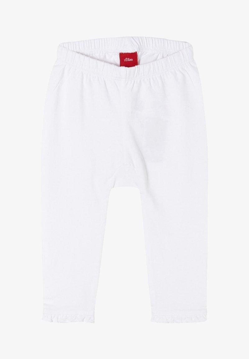s.Oliver - Leggings - Trousers - white