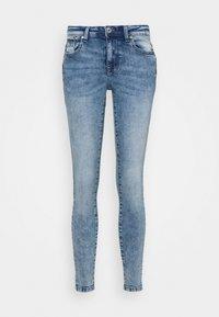 ONLY - ONLISA ZIP - Skinny džíny - light blue denim - 3
