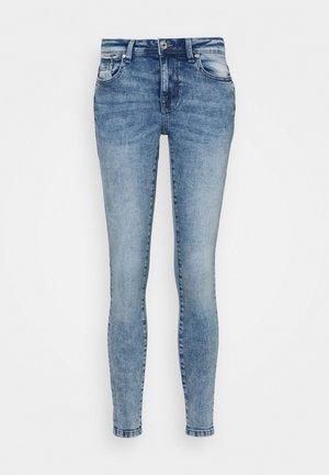 ONLISA ZIP - Jeans Skinny Fit - light blue denim