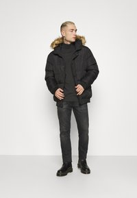 Newport Bay Sailing Club - Winter jacket - black - 1