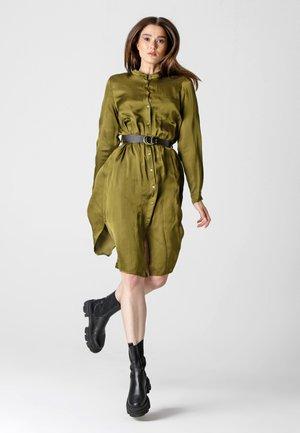 FRANCESCA - Shirt dress - olive