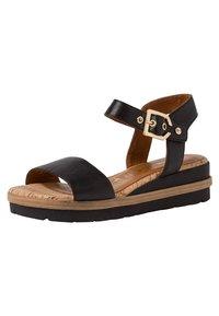 Tamaris - Platform sandals - black - 2