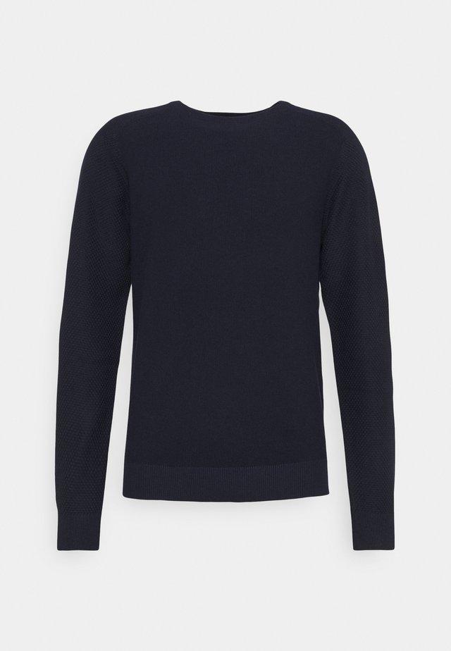 JPRBRAT CREW NECK - Trui - maritime blue