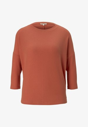 BATWING TEE - Long sleeved top - burnt coral