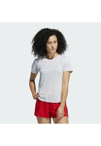 adidas Performance - GO TO TEE  - T-shirt basique - white - 0