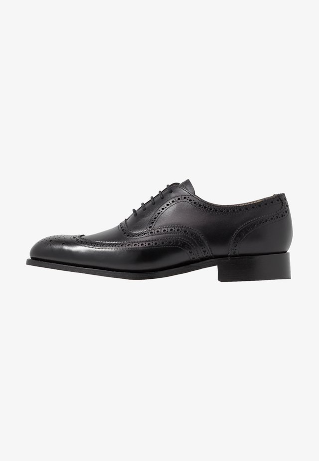 MALTON - Derbies & Richelieus - black
