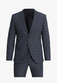 Selected Homme - SLHONE-MYLOAIR CHECK SUIT - Garnitur - dark blue - 10