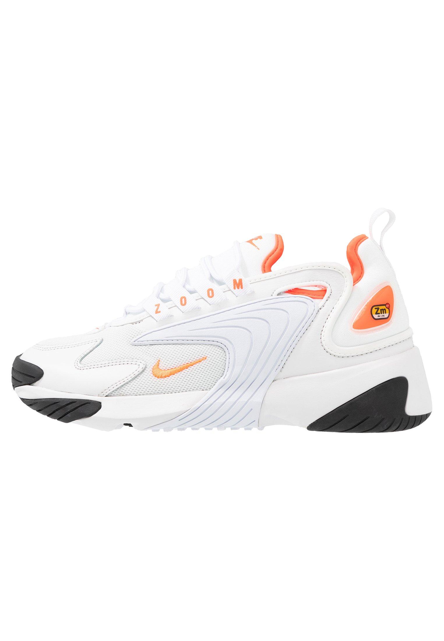 ZOOM 2K - Sneakersy niskie - platinum tint/hyper crimson/white/black