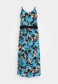 DOUBLE LAYER MAXI DRESS - Maxi dress - green paisley