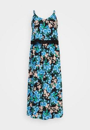 DOUBLE LAYER MAXI DRESS - Maxi šaty - green paisley