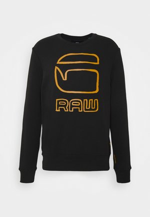 GRAPHIC GRAW R SW L\S - Felpa - dark black