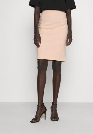 GONNA SKIRT - Pencil skirt - pink dune