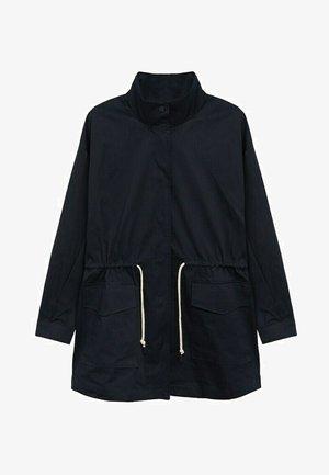 Abrigo corto - bleu marine