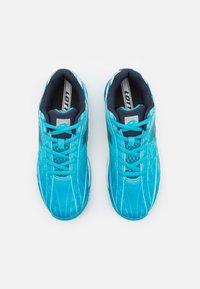 Lotto - MIRAGE 300 JR UNISEX - Zapatillas de tenis para todas las superficies - blue bay/navy blue/all white - 3