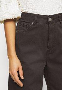 Dr.Denim Petite - AIKO - Široké džíny - graphite - 4