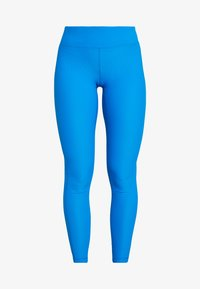 Casall - VISION SHINY HIGH WAIST - Punčochy - fierce blue - 4