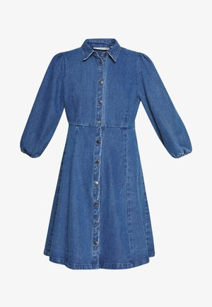 BAHIRA - Denimové šaty - dark indigo blue