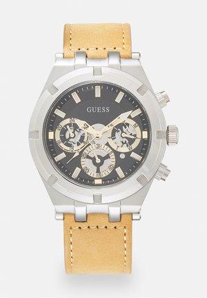 Watch - silver/brown