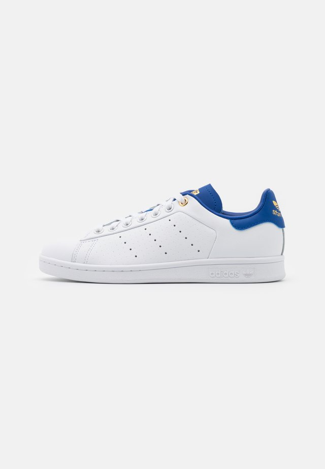 STAN SMITH - Baskets basses - footwear white/royal blue/gold metallic
