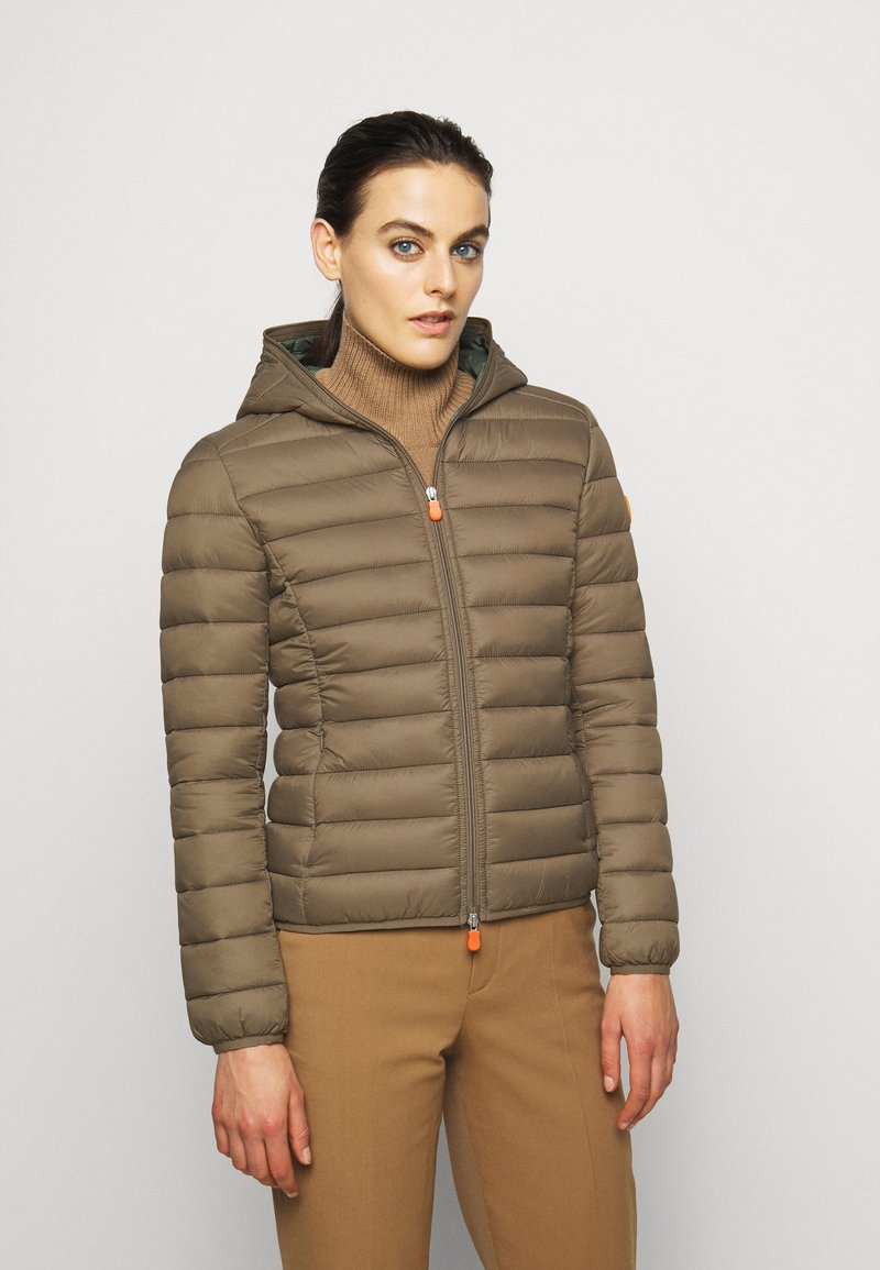 Save the duck - GIGAY - Winter jacket - coffee brown