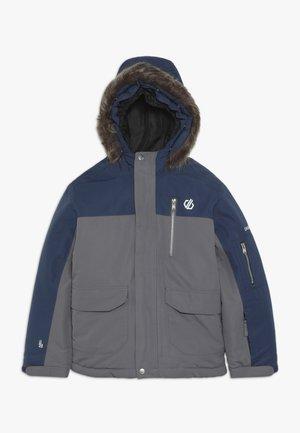 FURTIVE JACKET - Ski jacket - grey/dark blue