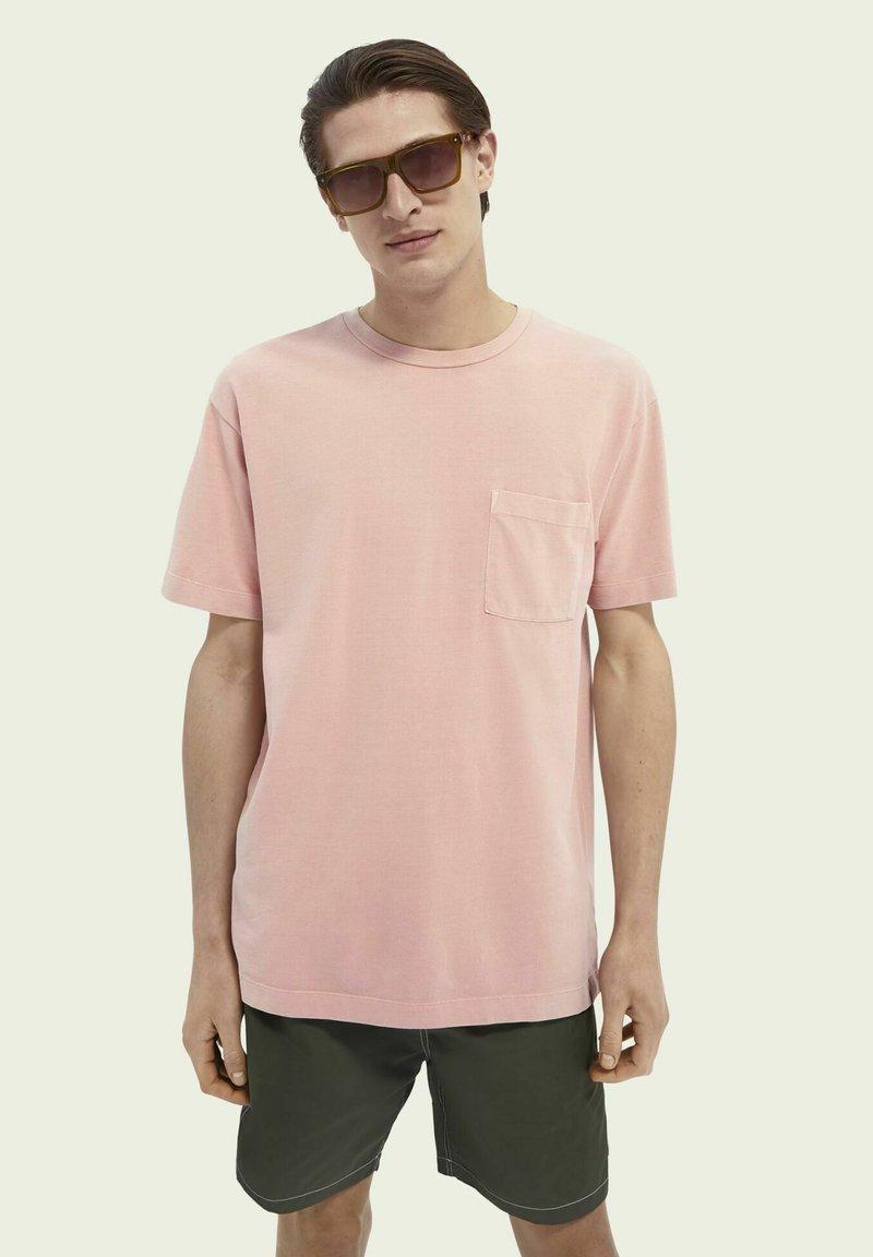 Scotch & Soda - T-shirt - bas - wild pink