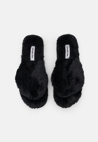 Simply Be - WIDE FIT LEONORA - Domácí obuv - black - 5