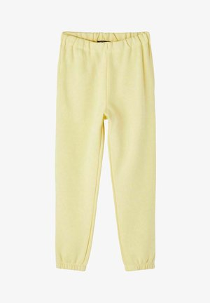 Tracksuit bottoms - mellow yellow
