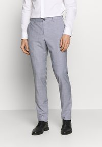Lindbergh - CHECKED SUIT - Completo - lt grey check - 4