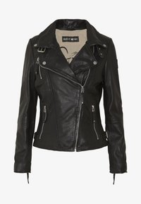 Freaky Nation - BIKER PRINCESS - Chaqueta de cuero - shadow - 4