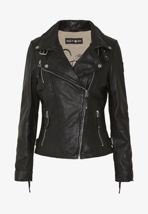PRINCESS - Leather jacket - shadow