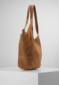 mint&berry - LEATHER - Tote bag - cognac - 3