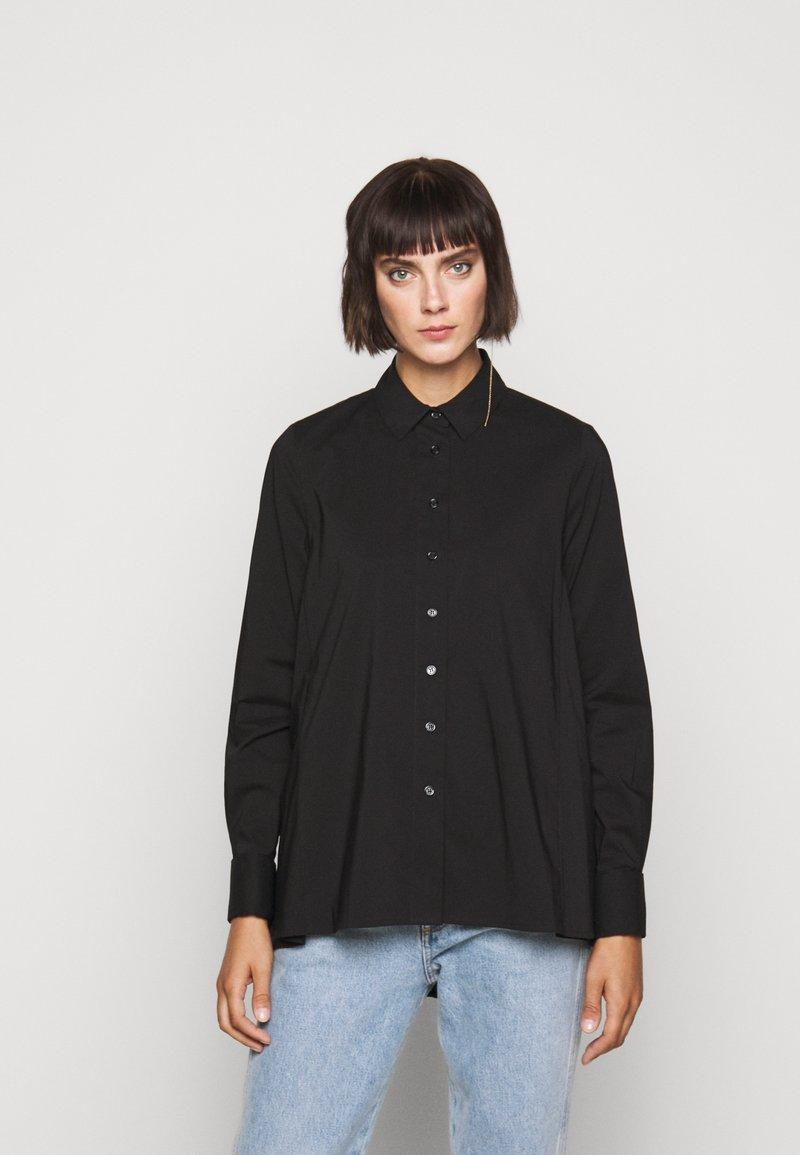 Steffen Schraut - CLEMANDE URBAN - Button-down blouse - black