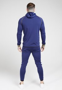 SIKSILK - SCOPE CARTEL ZIP THROUGH HOODIE - Training jacket - navy - 2