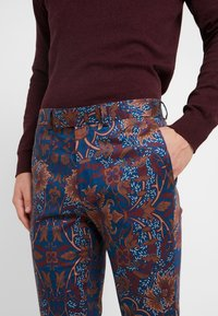 Topman - PRINTED TROUSER - Oblekové kalhoty - multi - 3