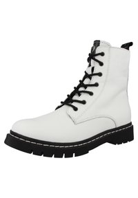 Tamaris - Lace-up ankle boots - white - 1