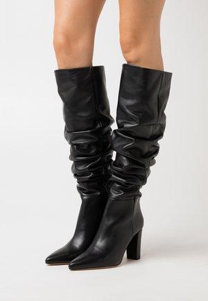 ISLAY - High heeled boots - black