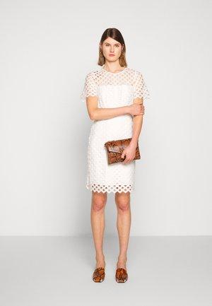 ANGELA DRESS - Shift dress - white